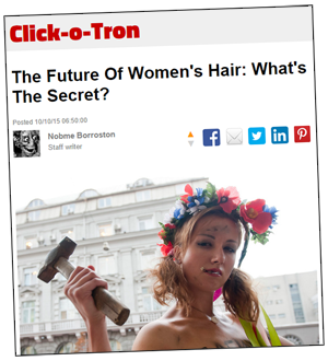 The Future Of Women's Hair: What's The Secret?